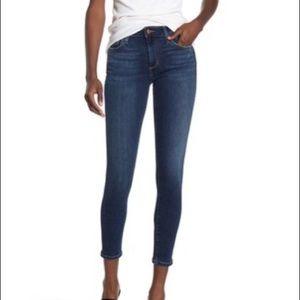 Joe's Jeans Curvy Skinny Ankle Crop Jeans